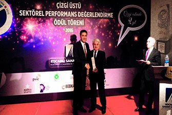 Performance Award to Akplas by Kocaeli Chamber of Industry